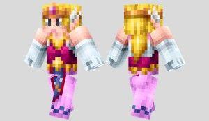 Princess Zelda Skin Para Minecraft Princess Of Wisdom Zelda - Skins para minecraft zelda