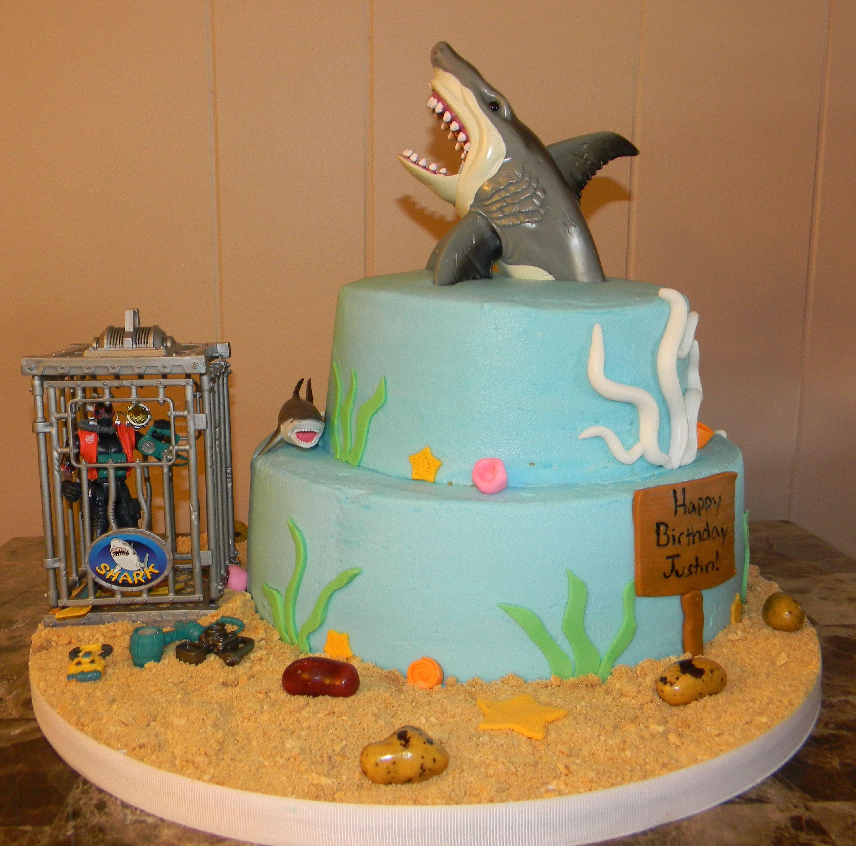 Торт с крокодилами фото и акулами