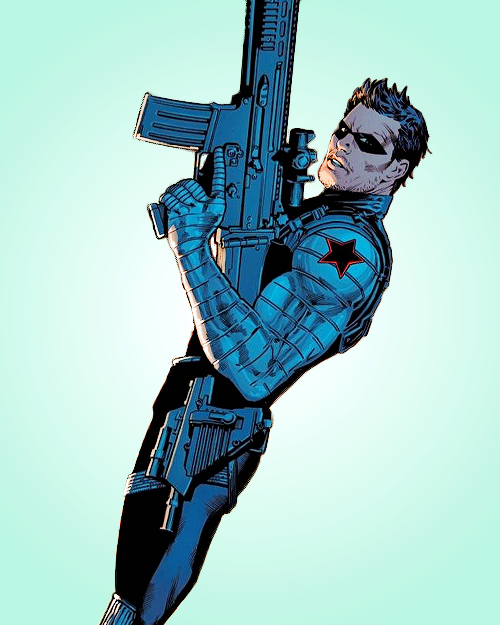 Bucky Barnes In All New Invaders 8 Winter Soldier Bucky Bucky Barnes Winter Soldier Western Comics