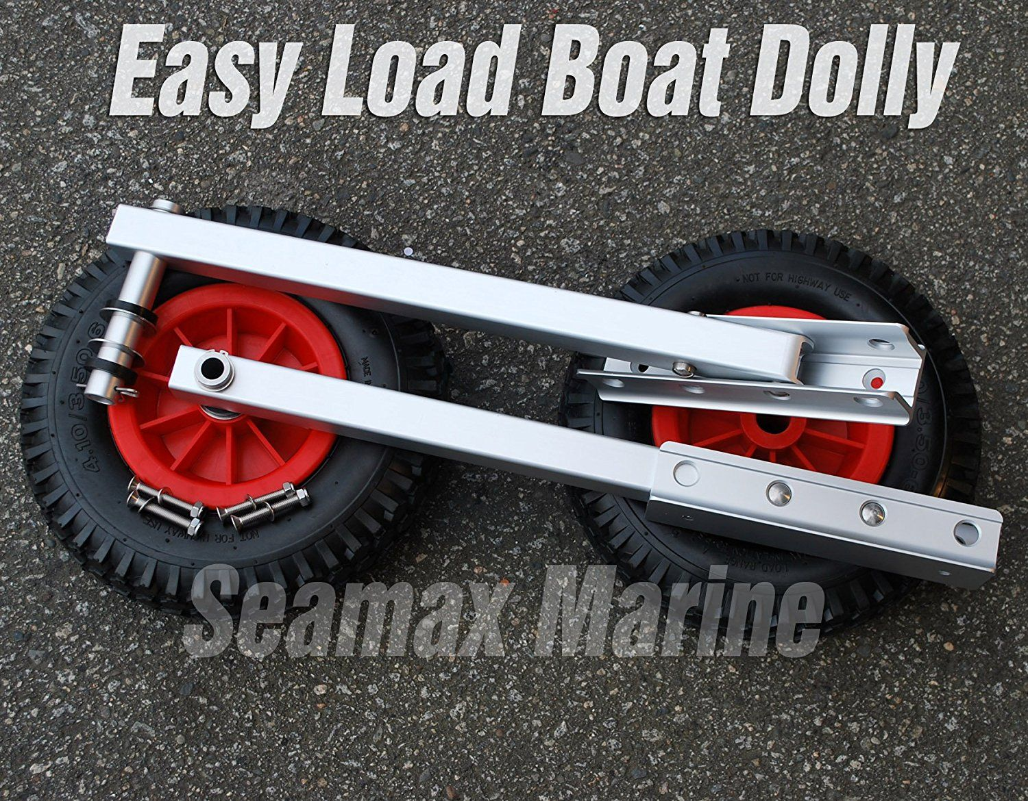 Amazon com : Seamax Easy Load Boat Launching Dolly 12