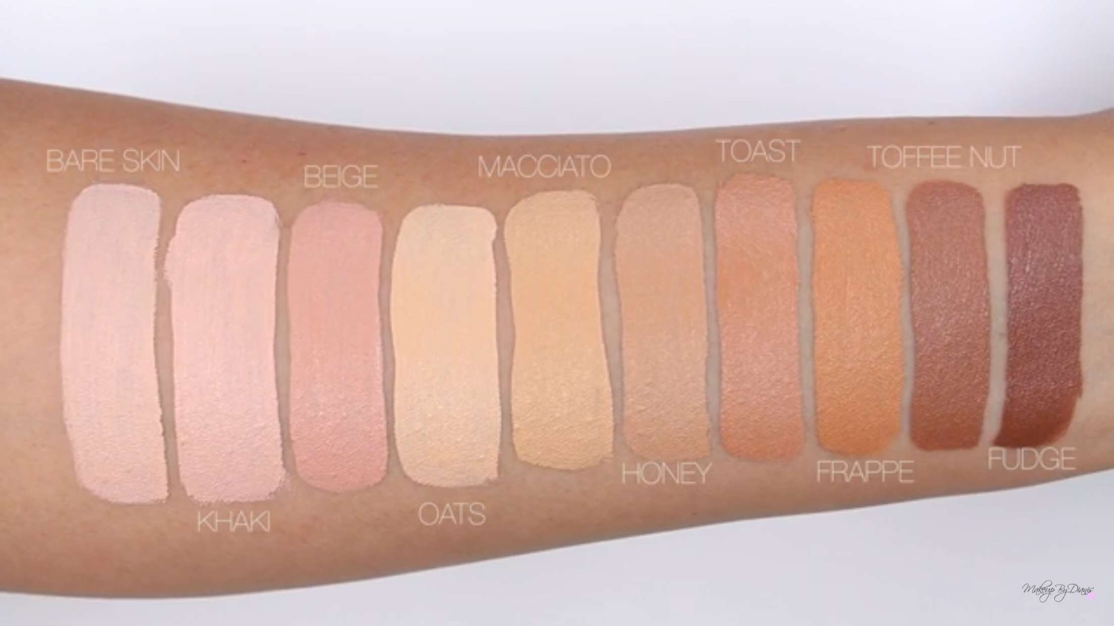 Pin by BrendasMakeup on Morphewl Makeup swatches