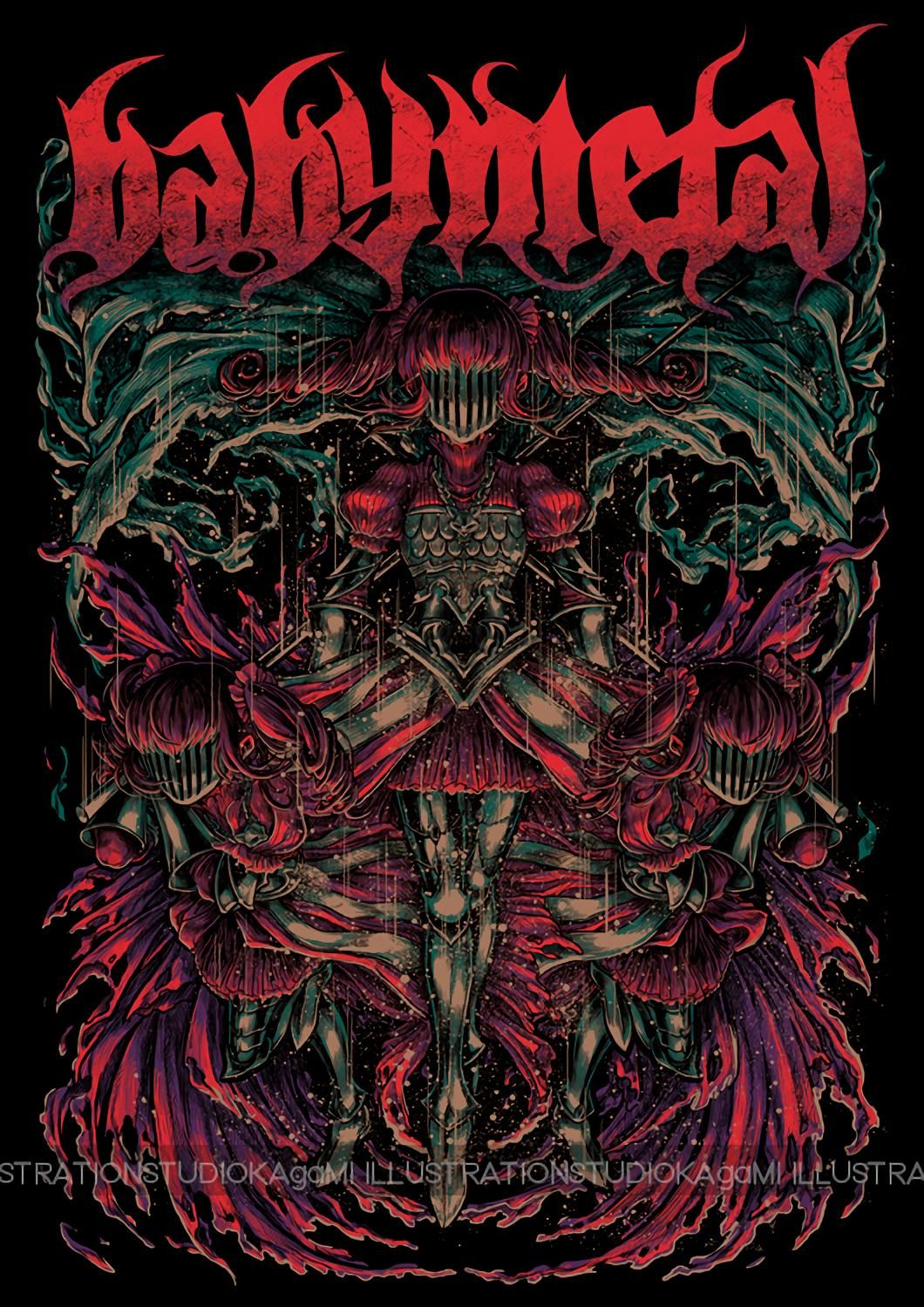 Babymetal T Shirt Art Collection Hd 28 Images ヘビメタ