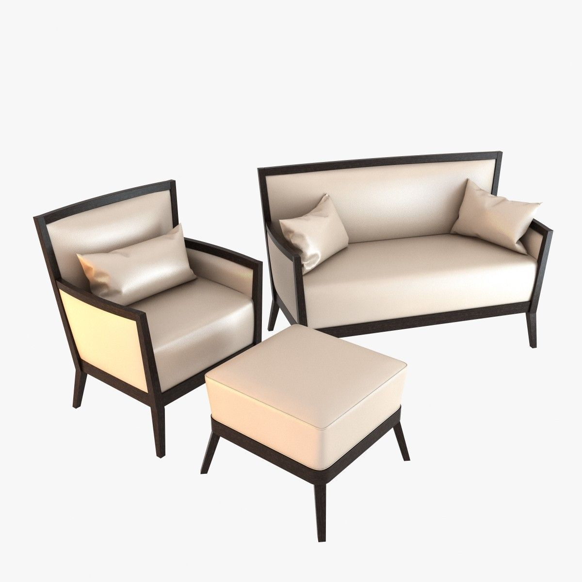 Sofa Sedie Armchair 3D Model 3D Model (con