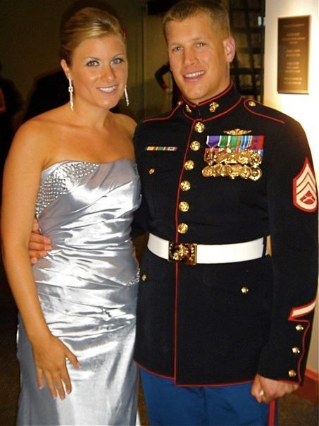 Marine corps ball gown | Marines | Pinterest | Marine corps ball ...