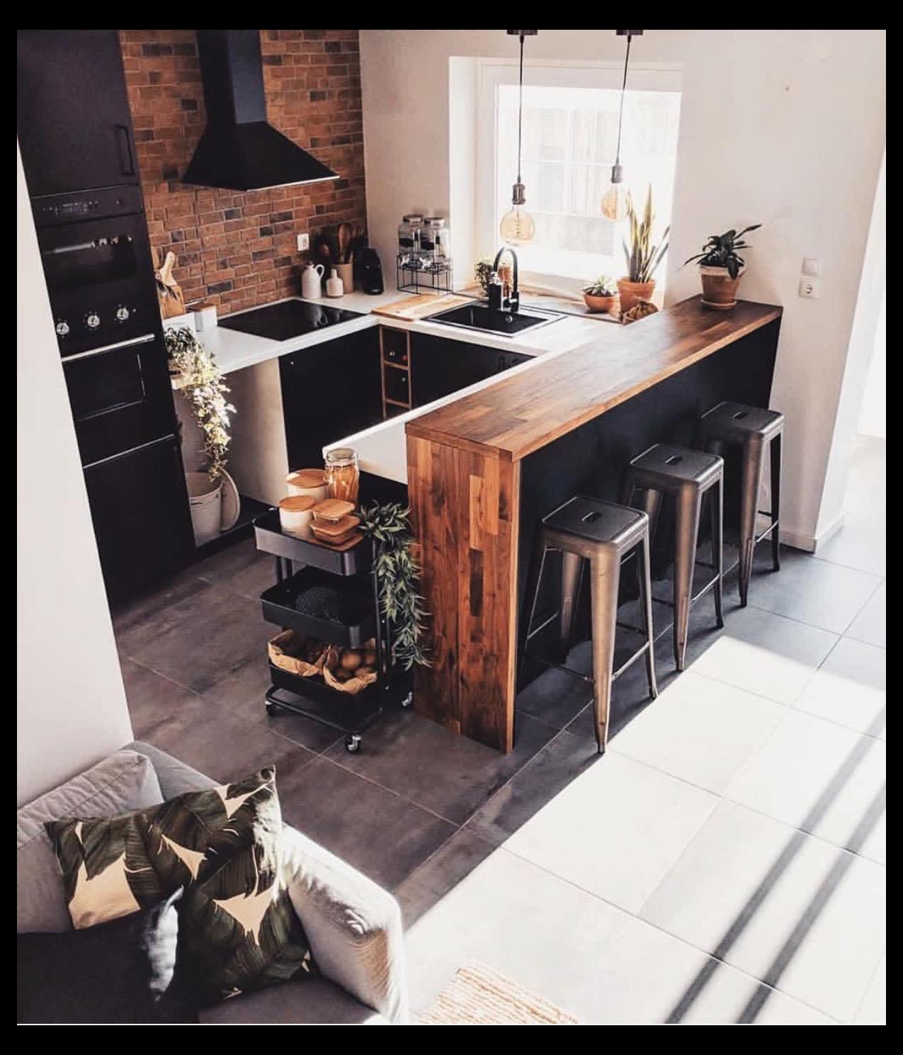 interior design kitchen rustic farmhouse style