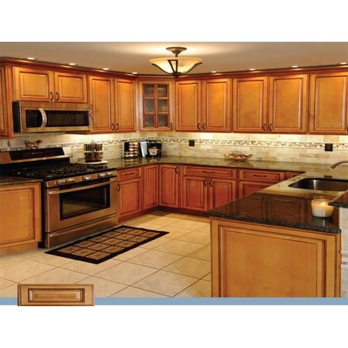 Light Maple Kitchen Cabinets: Modular Kitchen Cabinet (With Images)