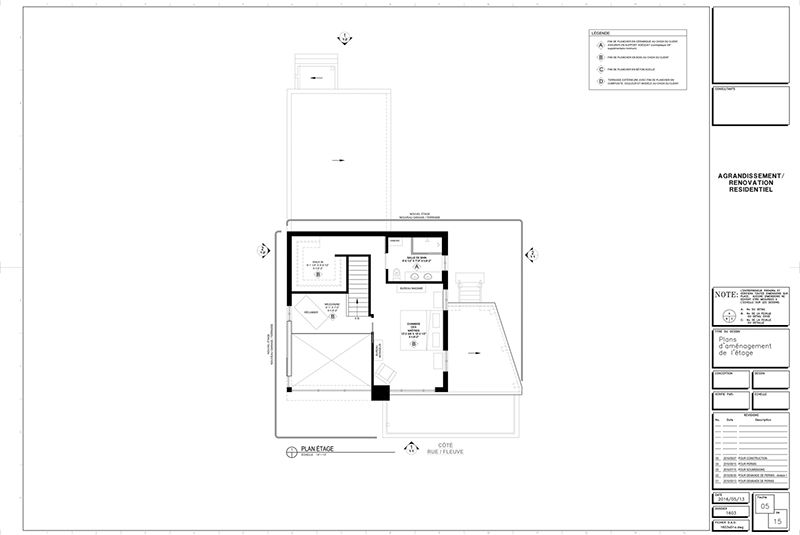 Exemple de plans pour ajout d\u0027étage et rallonge de maison (page 5