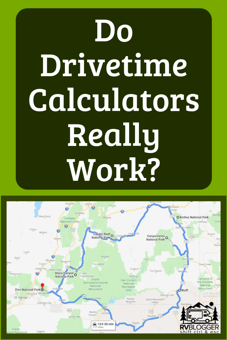 do drivetime calculators really work