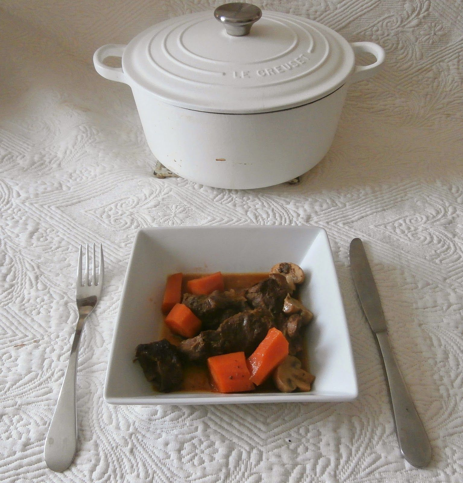 My Culinary Curriculum: Boeuf braisé aux 5 épices (Braised beef with 5 spi...