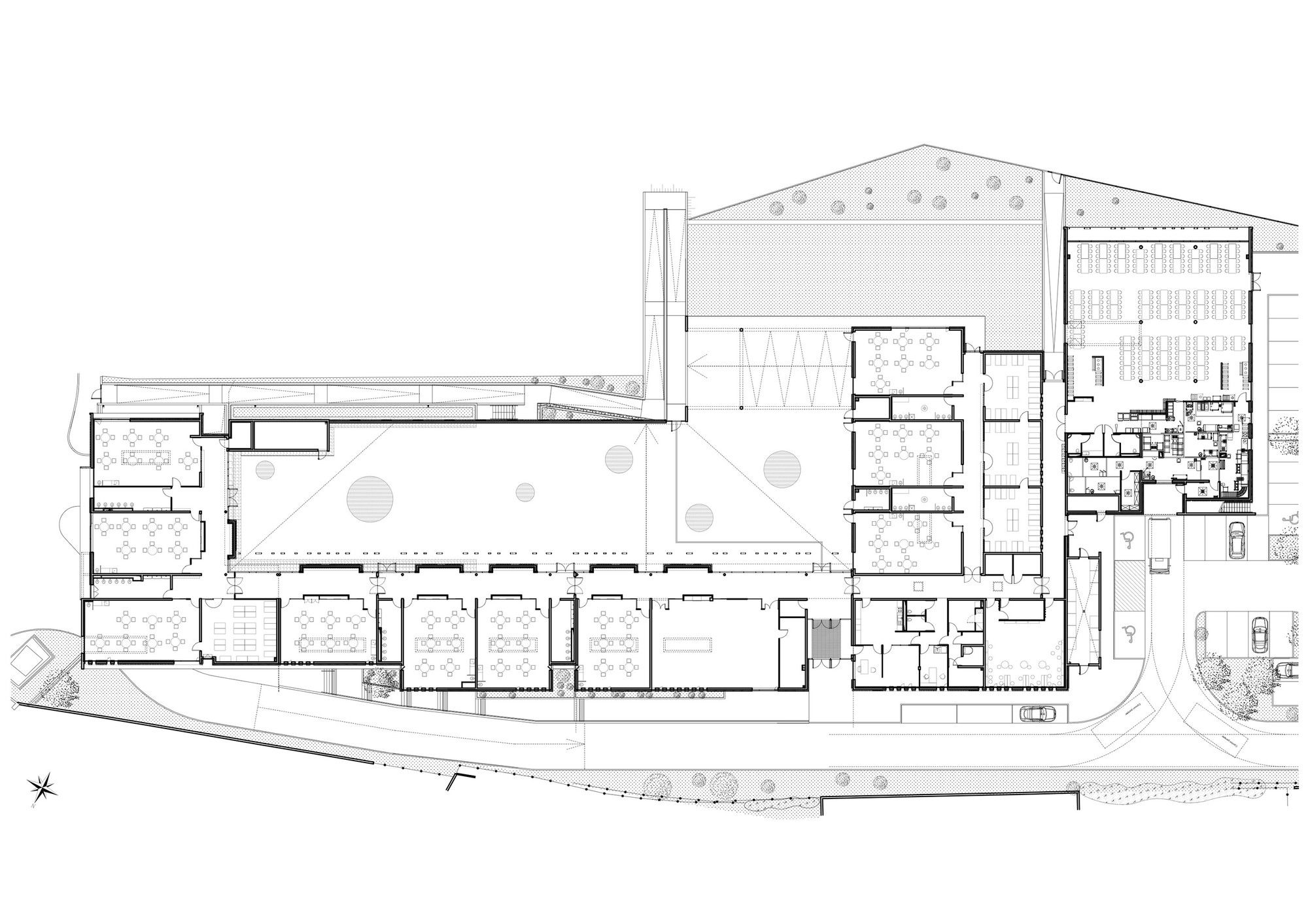 Gallery Of Nursery School Mdr 22 Nursery School School Architecture School Plan