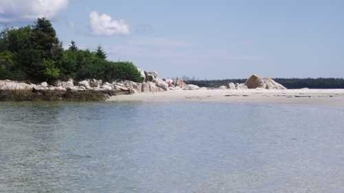 Carters Beach Port Mouton Queens County Nova Scotia Canada Nova