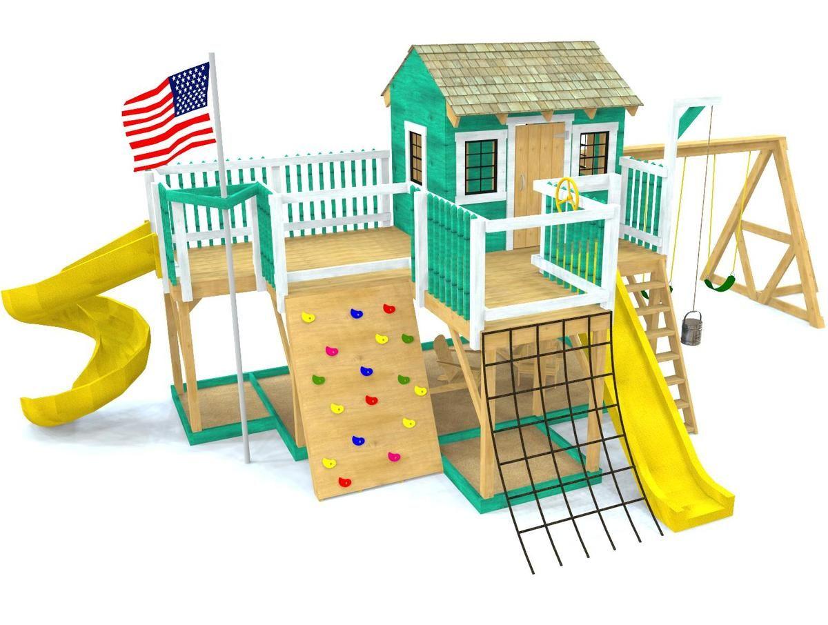 Photo of Plano de casa de juegos (2 tamaños)