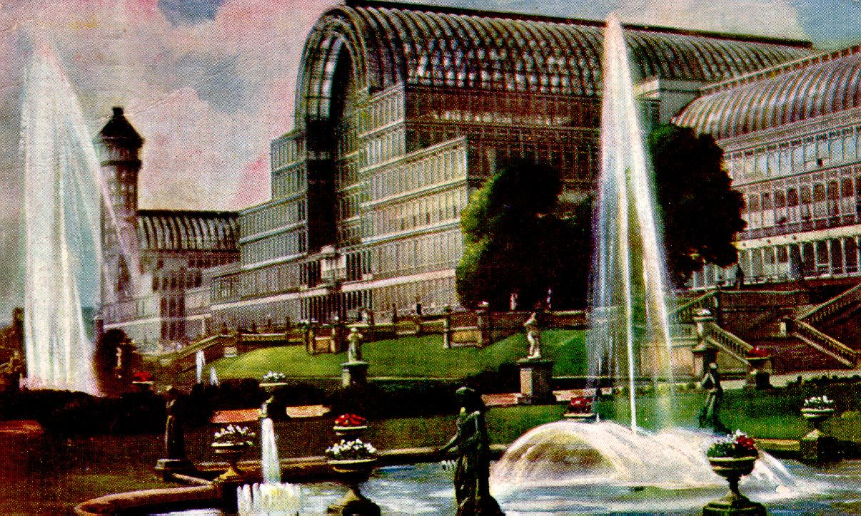 Londons crystal palace built in 1851 for the great exhibition crystal palace jeuxipadfo Gallery