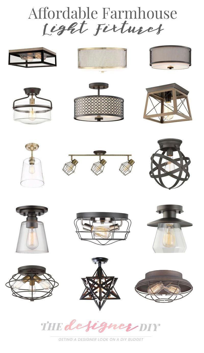 Affordable farmhouse light fixtures farmhouse light