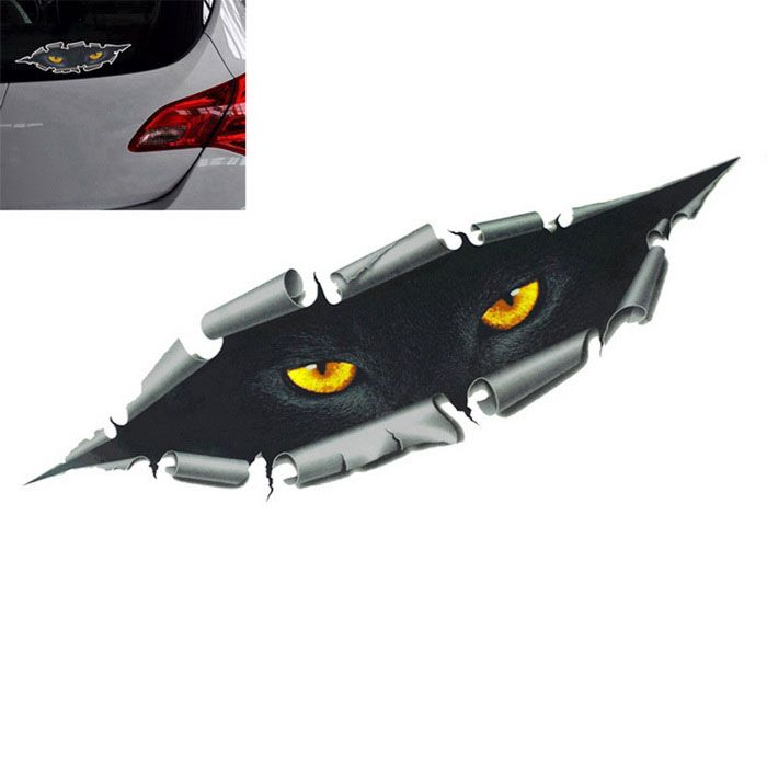 Car Styling Funny D Car Sticker Waterproof Peeking Monster Decals - Funny decal stickers for carssticker car window picture more detailed picture about funny car