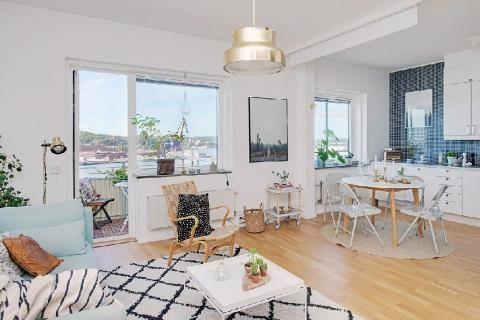 寧靜宜人的單房寓所 瑞典哥德堡 | 設計家 Searchome