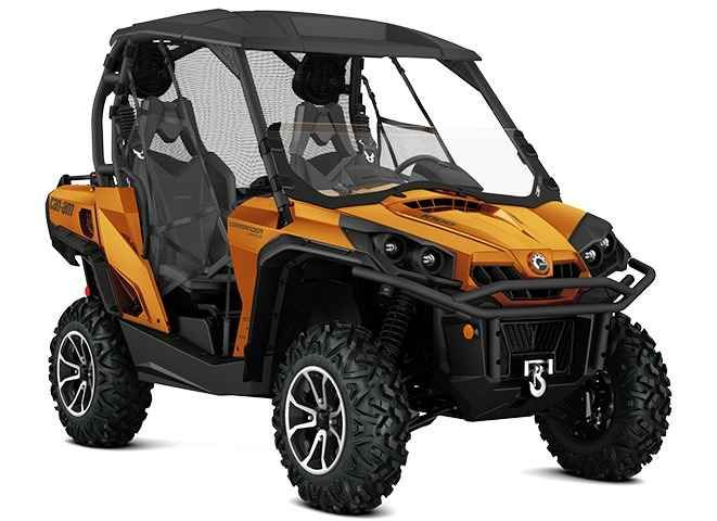 New 2016 Can-Am Commander Limited 1000 Cognac ATVs For Sale in Alabama. 2016 Can-Am Commander Limited 1000 Cognac, No other side-by-side vehicle offers such a luxurious ride, with performance shocks and four-speaker sound system. Equipped with Tri-Mode Dynamic Power Steering (DPS), Visco-Lok QE auto-locking front differential, and Rotax® power, this ride proves you don t have to choose between luxury and performance. 85-hp Rotax 1000 V-Twin Engine; Air Control Suspension (ACS) with FOX Air…