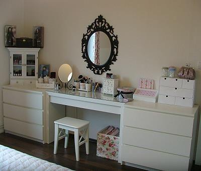Schlafzimmer ideen ikea malm  So ähnlich wirds, die Malm Kommoden hab ich schon, fehlt nur noch ...
