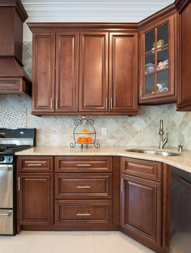 BROWNSTONE kitchen cabinets from Kitchen Cabinet Kings ...