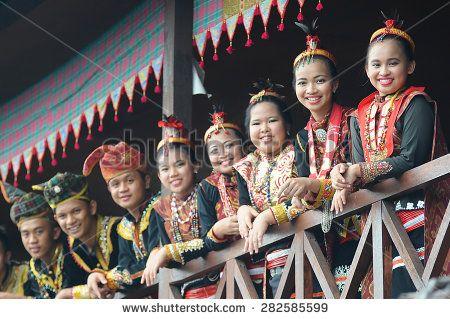 Penampang, Sabah Malaysia.May 30, 2015 : A group of people from Lotud tribe of Sabah Malaysian