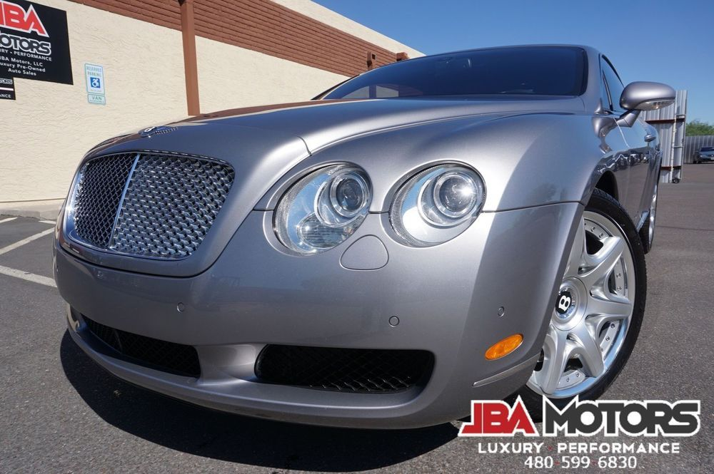 2006 Bentley Continental Gt Coupe Mulliner Package 1 Owner Clean Carfax 2006 Astonmartin Supercar Fa Bentley Continental Gt Bentley Continental Coupe