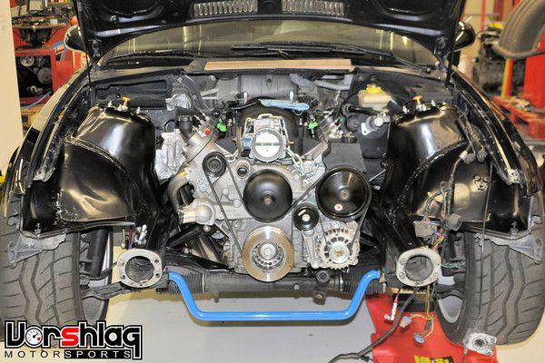 LS1 swap into E36 BMW   Gear Head   Bmw e36, Bmw cars, Bmw parts