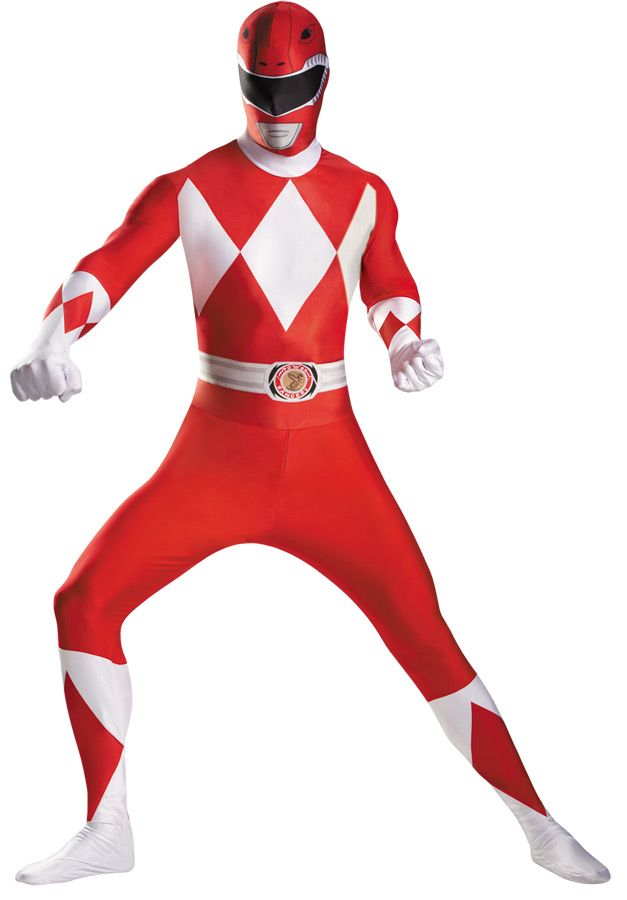 Power Ranger Ninja Acier Rouge Classic Boy/'s Fancy Dress Costume