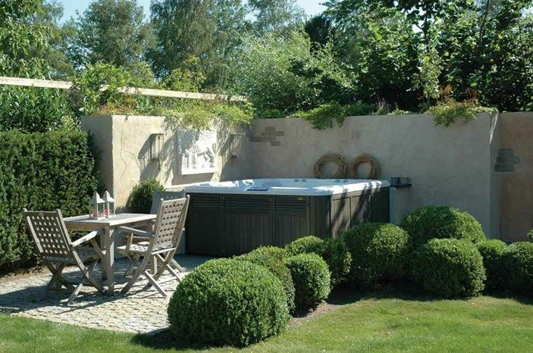 Photo of Outdoor Jacuzzi – Ideas to place it in the garden. – New Decoration
