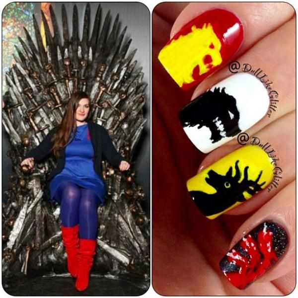 Pin de All Things Nail Art en Movies and TV | Pinterest
