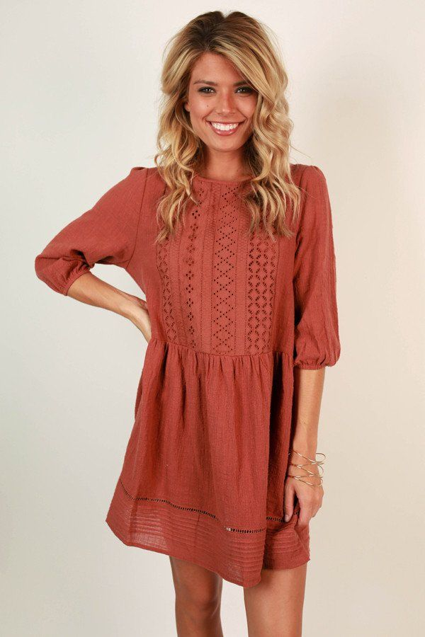 boho divine shift dress in aurora red boho casual and