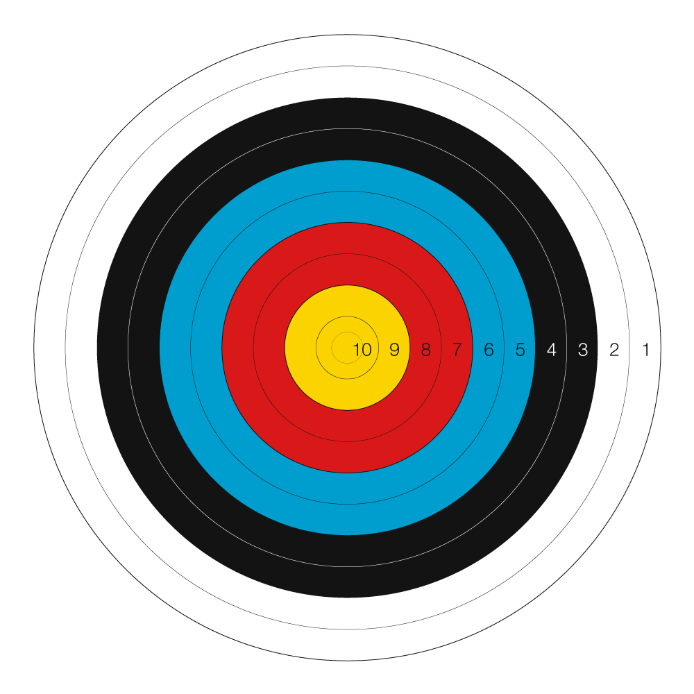 target archery is the most recognisable format of modern archery