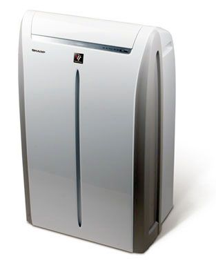 Sharp 13 000 Btu Portable Air Conditioner Portable Air Conditioner Locker Storage Compact Appliances