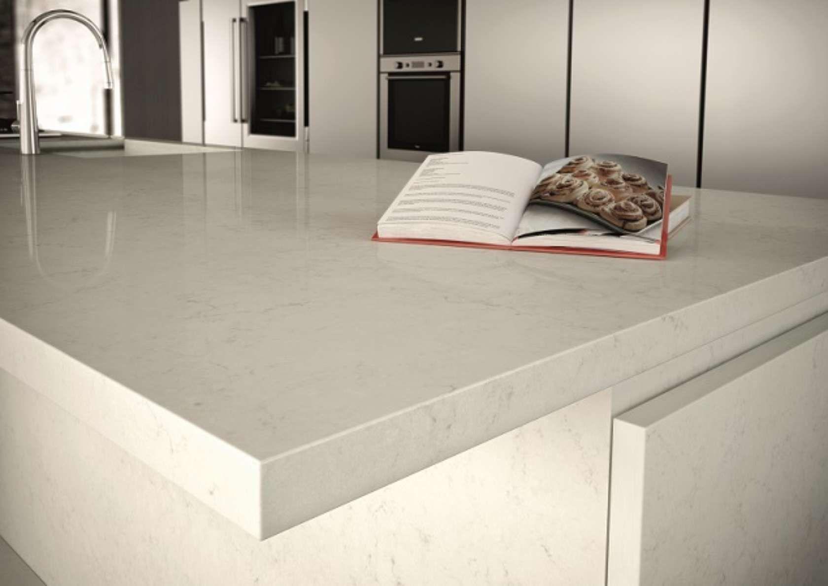 - Caesarstone Frosty Carrina 5141 - Tiles, Worktops, Flooring & Wall