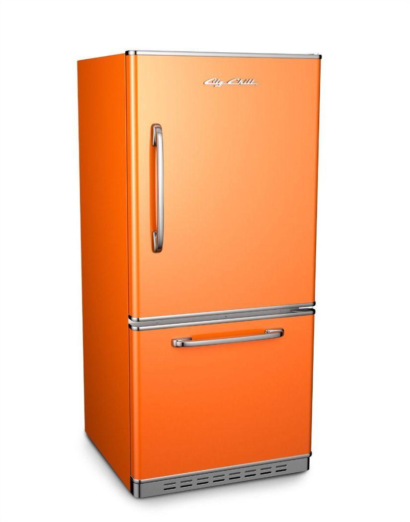 Appliances in All Shades of Orange Big chill, Retro