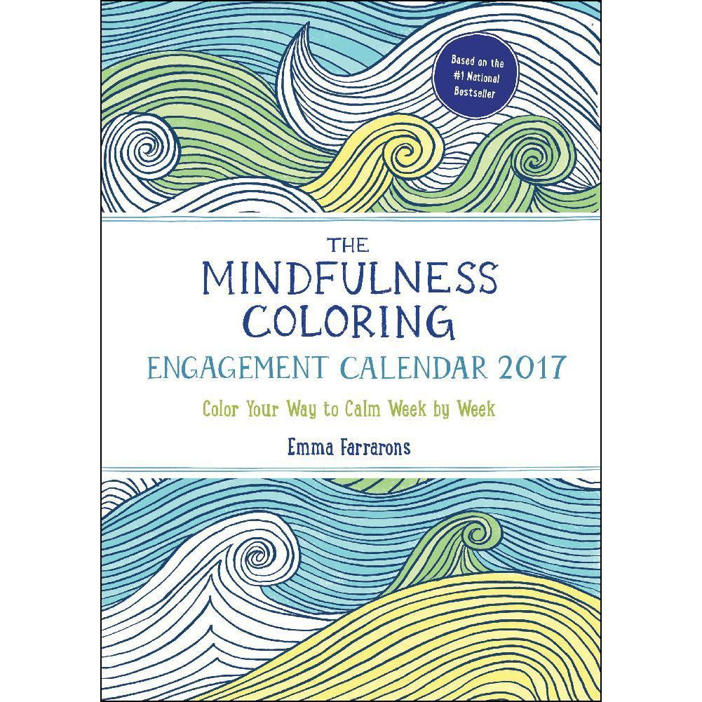 Mindfulness Coloring Planner a planner for 2017 featuring coloring ...
