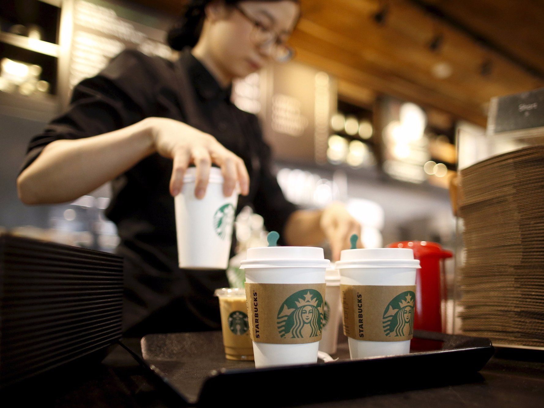Starbucks stores will close nationwide next month in an