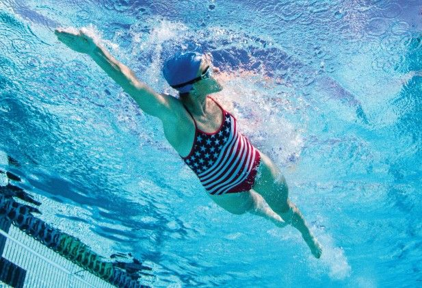 The One Hour Swim Test Swimming Workout Swimming Strokes Triathlon Swimming