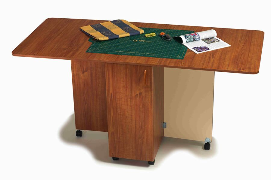 Horn Craft Table With Storage Cupboard Hobby Table Craft Tables With Storage Sewing Craft Table
