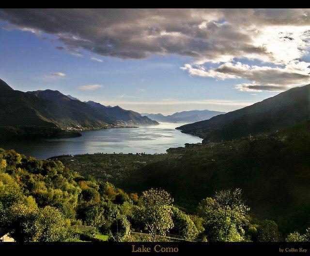 Lake Como by Collin Key, via Flickr