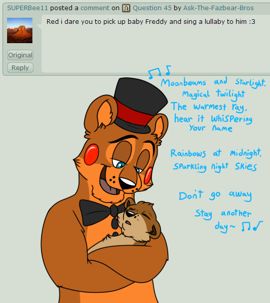 Ask Fnaf Babies: For Www.youtube.com/watch?v=cK7XJZ… Red: Why Wasn't I Told