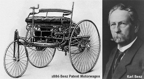 Automobile the first car ever made was by karl benz in for Who invented the mercedes benz