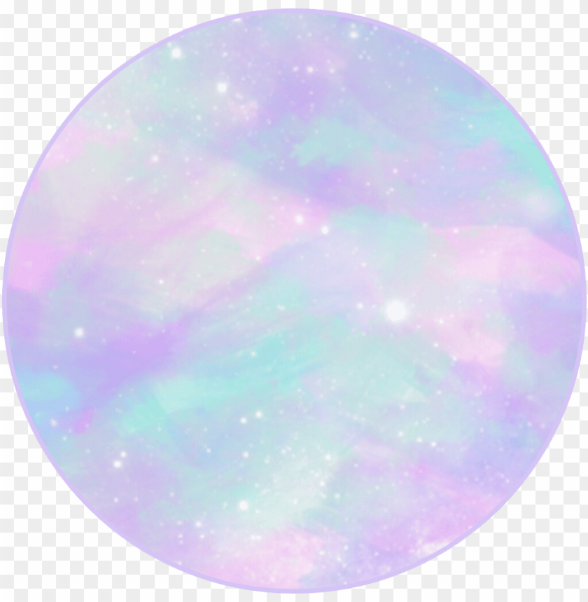 Astel Galaxy Sticker Circle Transparent Circle Png Image With Transparent Background Png Free Png Images Pastel Galaxy Frame Logo Clip Art
