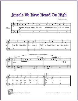 angels we have heard on high pdf