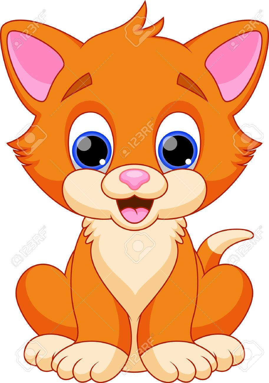 animals cat clipart [ 913 x 1300 Pixel ]
