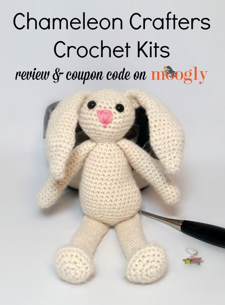 Chameleon Crafters Crochet Kits - Review and coupon code on Moogly! *** #gift ideas #diy #crochet pattern #tutorial #gifts #christmas #kids #design #diy gifts