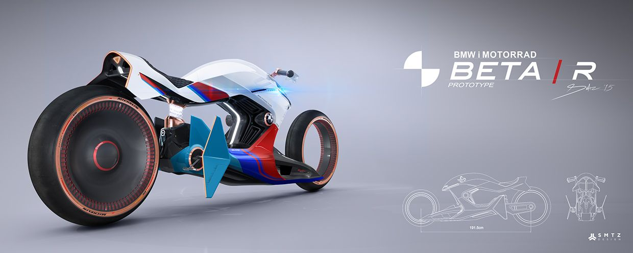 BMW i MOTORRAD. BETA R VISION on Behance