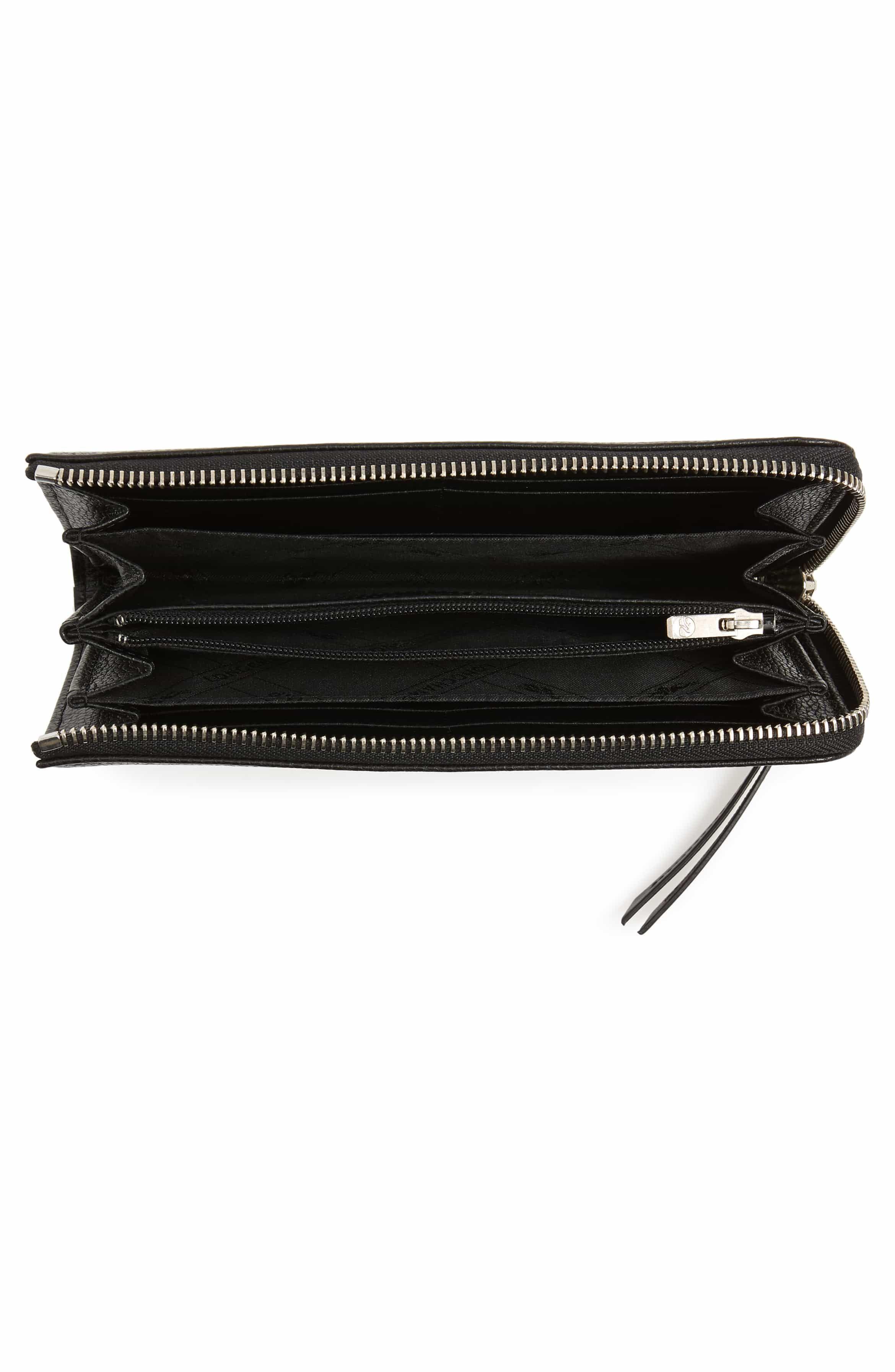 56194132c6e8 Le Foulonne Zip Around Wallet