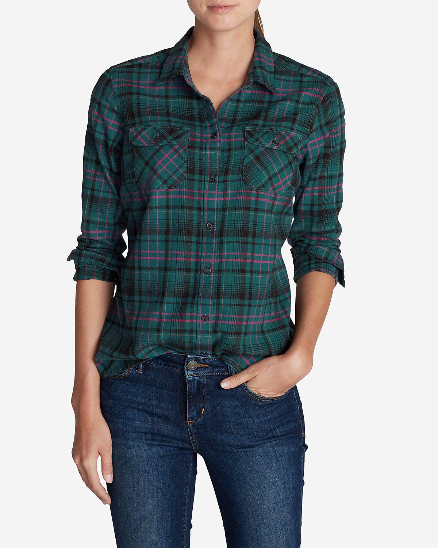 Flannel shirt women  Womenus Stineus Favorite Flannel Shirt  Plaid  Fashion  Pinterest