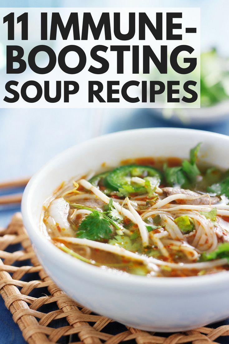 Immune boosting soup recipes