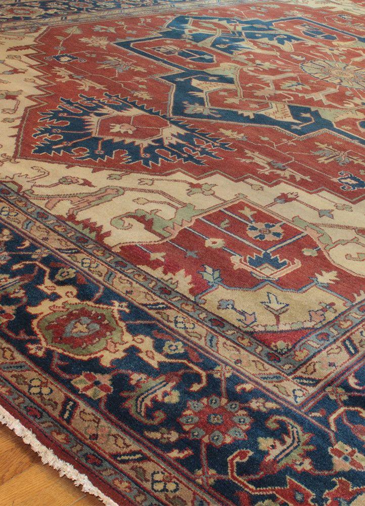 Serapi JB80024577, India Rugs on carpet, Rugs, Persian